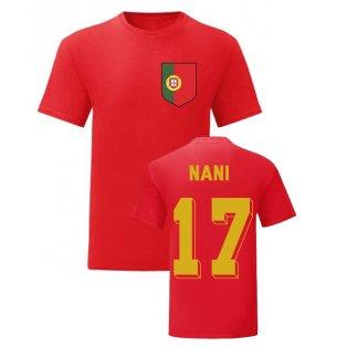 Nani Portugal National Hero Tee (Red)