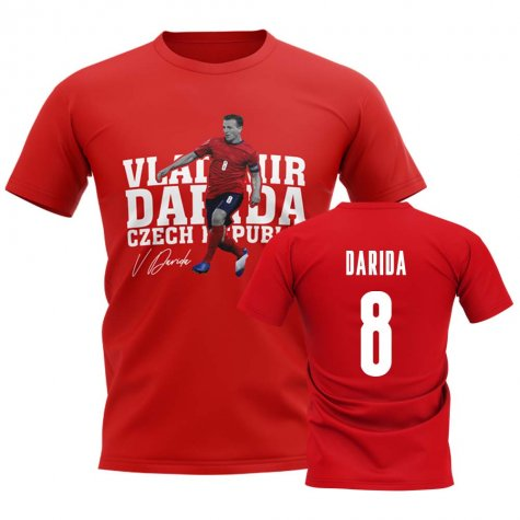 Vladimir Darida Czech Republic Player Tee (Red)