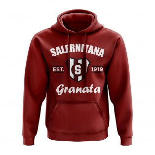 Salernitiana Established Hoody (Maroon)