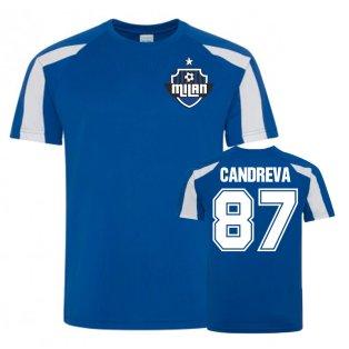 Antonio Candreva Inter Milan Sports Training Jersey (Blue)