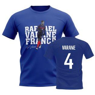 Raphael Varane France Player Tee (Blue)