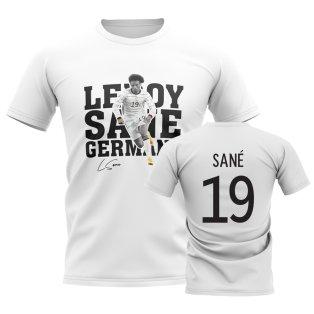 Leroy Sane Germany Player Tee (White)