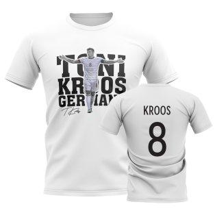 Toni Kroos Germany Player Tee (White)