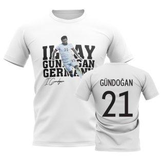 Ilkay Gundogan Germany Player Tee (White)