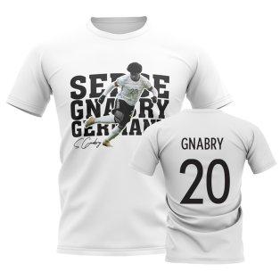 Serge Gnabry Germany Player Tee (White)