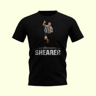 Alan Shearer Player T-Shirt (Black)