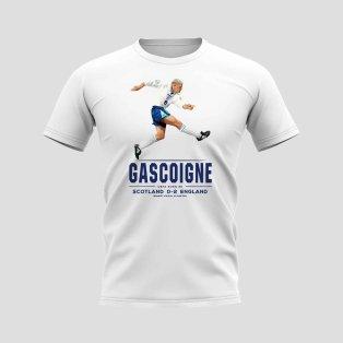 Paul Gascoigne Player T-Shirt (White)