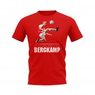 Dennis Bergkamp Player T-Shirt (Red)