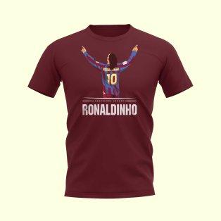 Ronaldinho Player T-Shirt (Maroon)