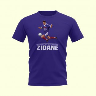 Zinedine Zidane Player T-Shirt (Blue)