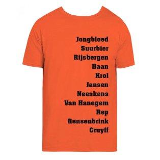 Holland Favourite XI Tee (Orange)