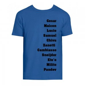 Milan Favourite XI Tee (Blue)
