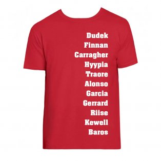 Liverpool Favourite XI Tee (Red)