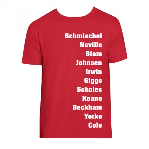 Manchester Favourite XI Tee (Red)