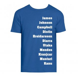 Portsmouth Favourite XI Tee (Blue)