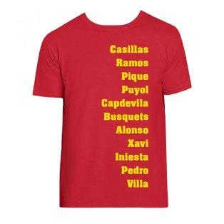 Spain Favourite XI Tee (Red)
