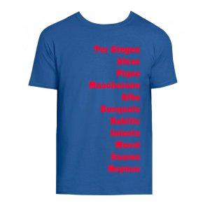 Barcelona Favourite XI T-Shirt (Blue)