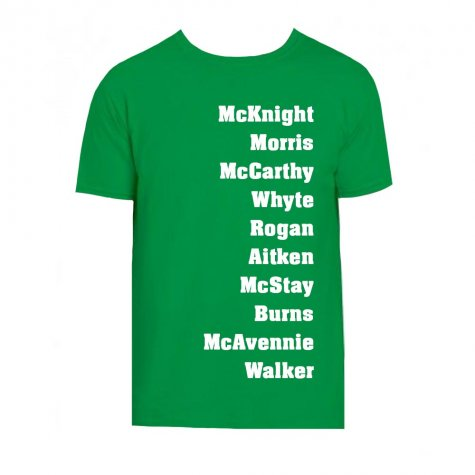 Celtic Favourite XI T-Shirt (Green)