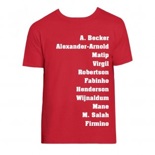 Liverpool Favourite XI T-Shirt (Red)