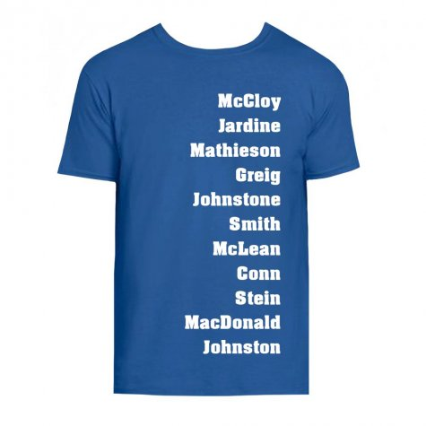 Rangers Favourite XI T-Shirt (Blue)
