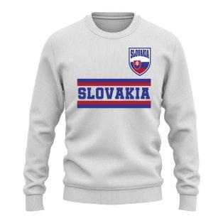 Slovakia Core Country Sweatshirt (White)