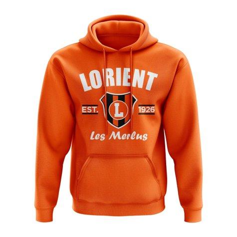 Lorient Established Hoody (Orange)