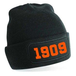 Dundee 1909 Football Beanie Hat (Black)