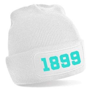 Marseille 1899 Football Beanie Hat (White)