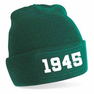 Wolfsburg 1945 Football Beanie Hat (Green)