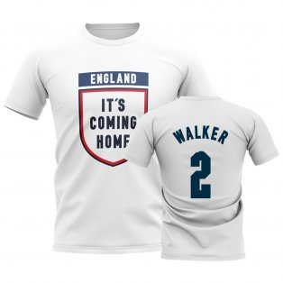 England Its Coming Home T-Shirt (Walker 2) - White