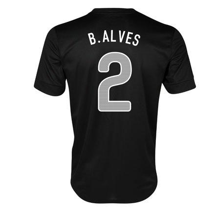 2013-14 Portugal Nike Away Shirt (B. Alves 2)