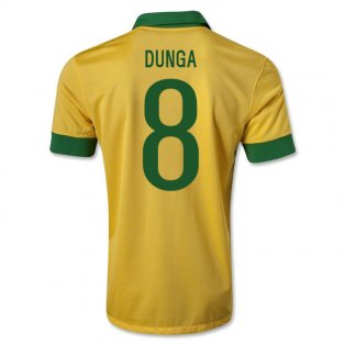 2013-14 Brazil Home Shirt (Dunga 8)