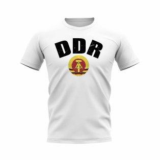 DDR Vintage Club Badge T-Shirt (White)