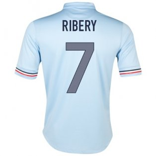 2013-14 France Away Shirt (Ribery 7)