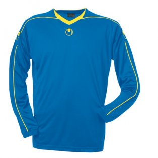 Uhlsport Stream II LS Shirt (blue-yellow)