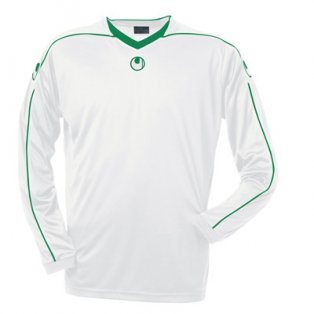 Uhlsport Stream II LS Shirt (white-green)