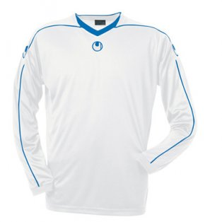 Uhlsport Stream II LS Shirt (white-blue)