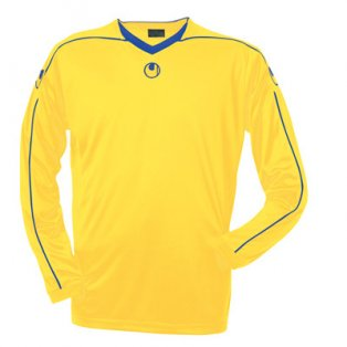 Uhlsport Stream II LS Shirt (yellow-blue)