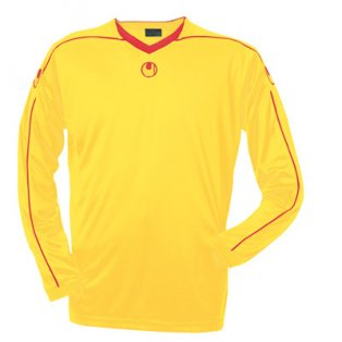 Uhlsport Stream II LS Shirt (yellow-red)
