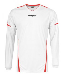 Uhlsport Team LS Shirt (white-red)