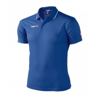 Macron Draco Polo Shirt (blue)