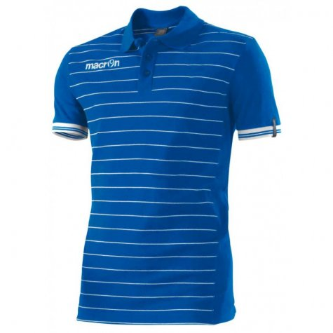Macron Jungle Polo Shirt (blue)