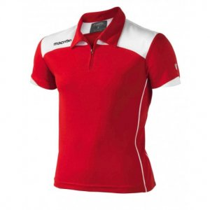 Macron Logan Polo Shirt (red)