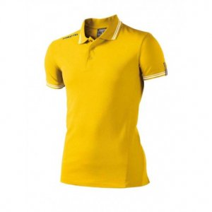 Macron Loira Polo Shirt (yellow)