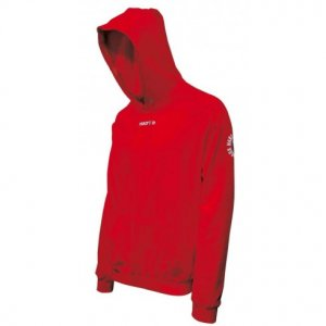 Macron Central Hoodie Sweatshirt (red)