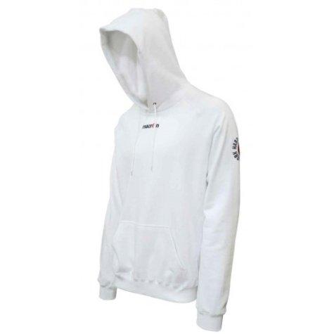 Macron Central Hoodie Sweatshirt (white)