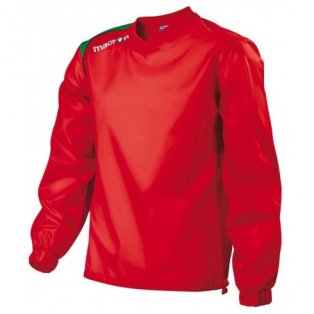 Macron Baku Windbreaker (red-green)