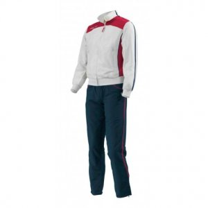 Macron Ghibli Tracksuit (white-red)