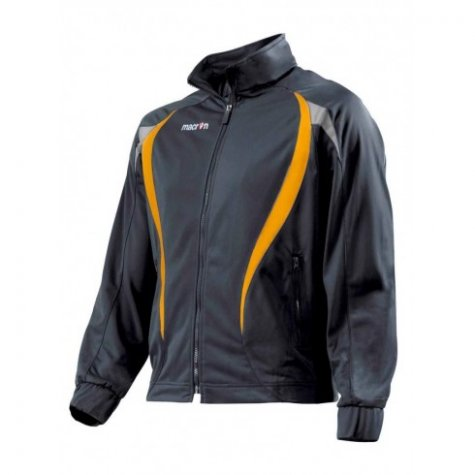 Macron Malik Tracksuit Jacket (black-orange)