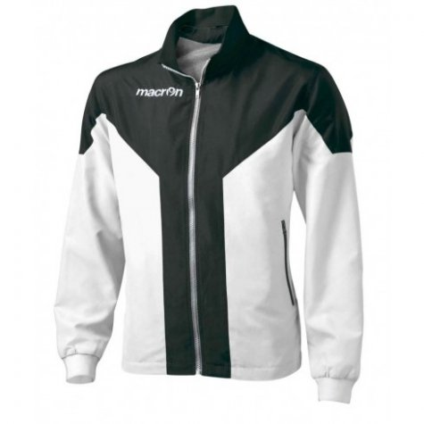 Macron Tanatos Tracksuit Jacket (white-black)